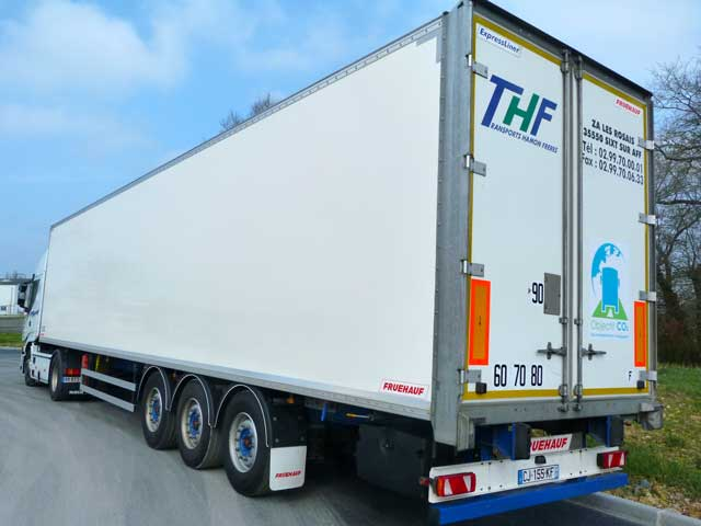 THF-Transports- Fourgons Double planchers