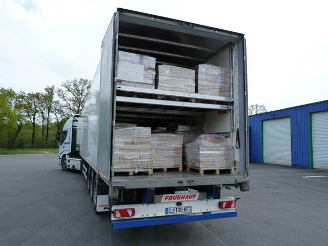 THF-Trasnports forgons double plancher- Distribution - National
